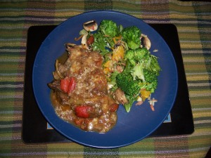 Chili Braised Beef and Kitchen Sink Salad